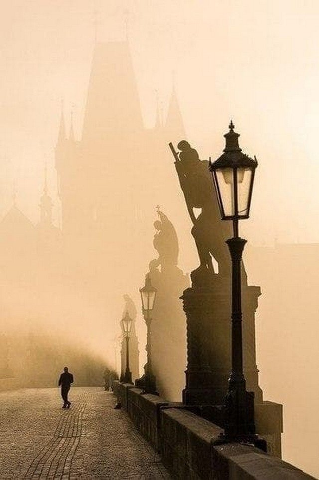 Карлов мост, Прага, Чехия.