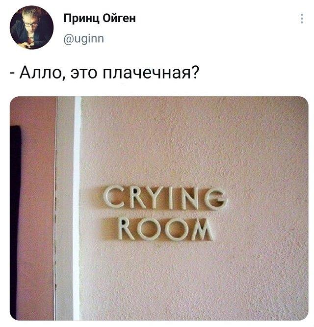 твит про плачечную