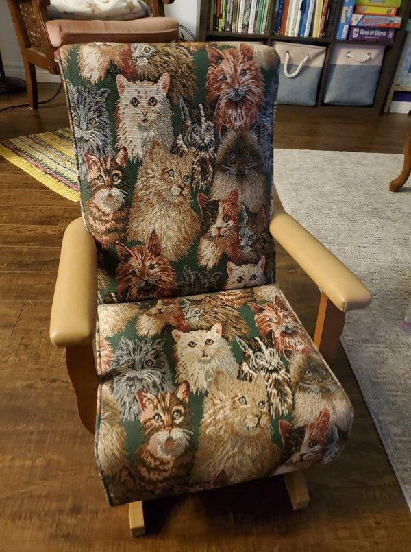 Кресло для сильного и независимого