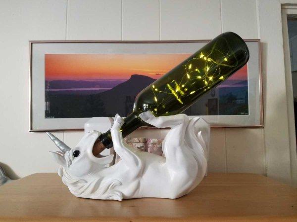 Волшебная подставка для вина