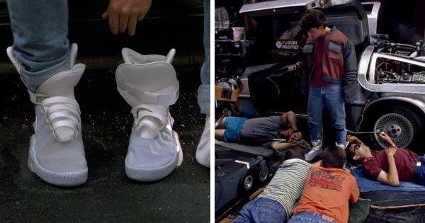 Кто на самом деле завязывал самозавязывающиеся кроссовки из фильма «Назад в будущее 2» (1989)