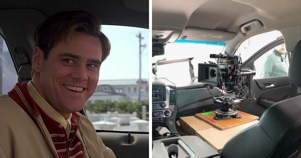 Как снимают водителя в автомобиле на примере фильма «Шоу Трумана» (1998)