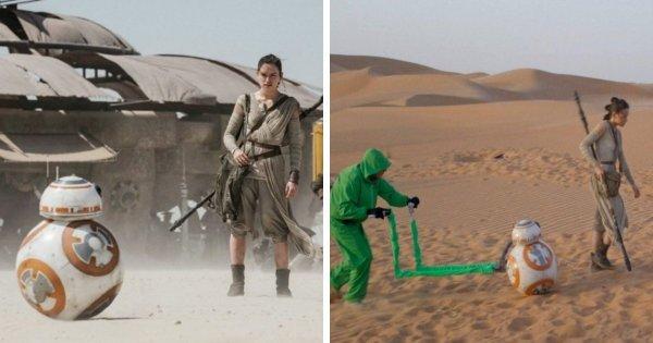 Как на самом деле перемещался дроид BB-8 из «Звёздных войн»