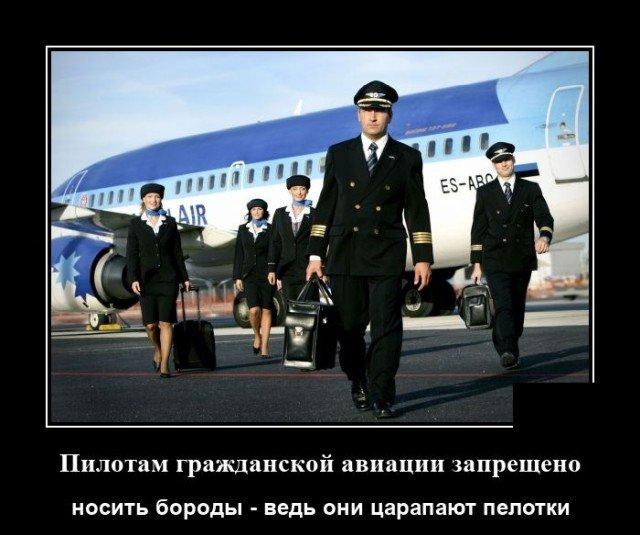 Демотиватор про пилотов