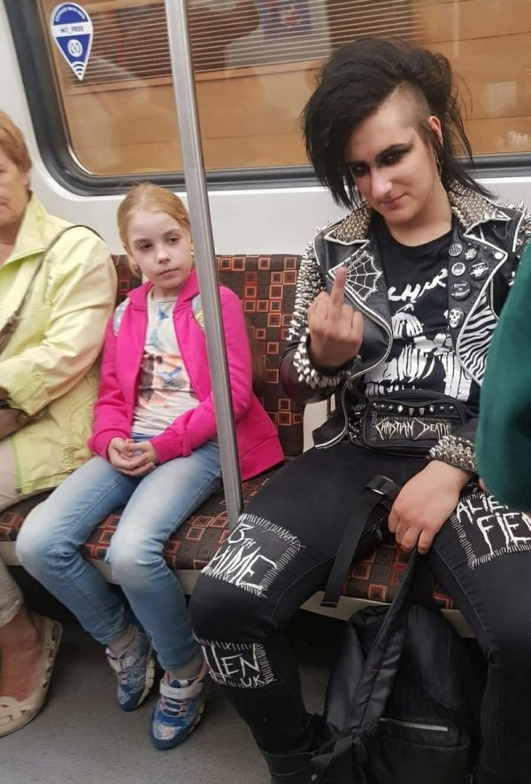 парень-панк