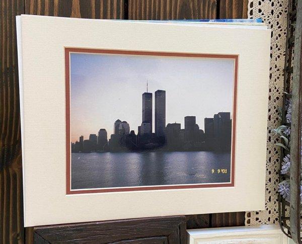 У моих родителей есть фотография башен-близнецов за два дня до 11 сентября