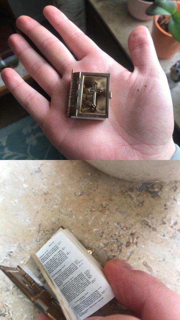 миниатюрная Библия