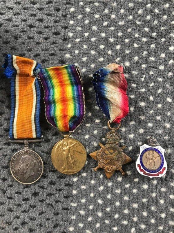 медали Первой мировой войны