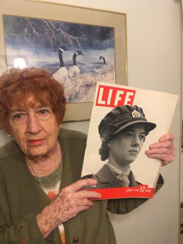 Моя бабушка пережила Вторую мировую войну, будучи подростком