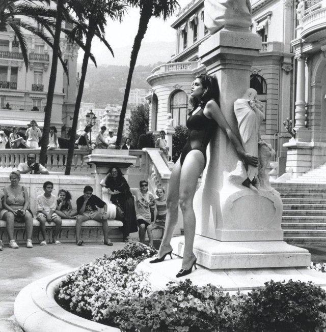 Синди Кроуфорд в Монте Карло, 1991 год.