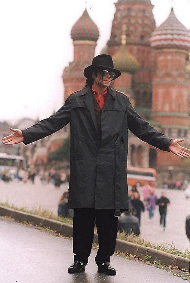 Майкл Джексон на Красной Площади., 1993