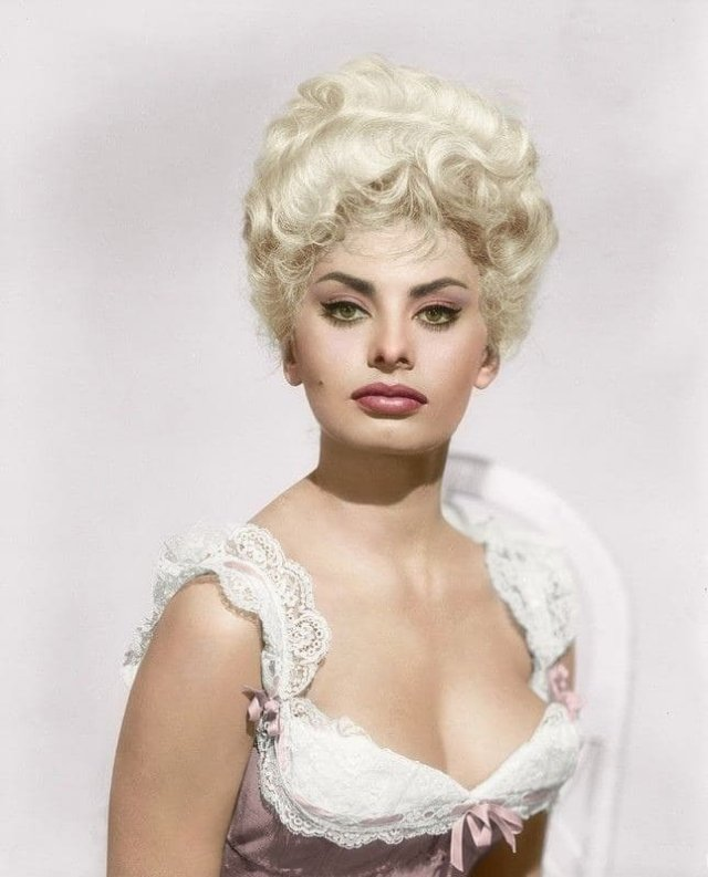 Софи Лорен, 1960 год.