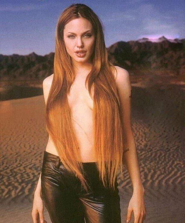 Анджелина Джоли, 1999 год