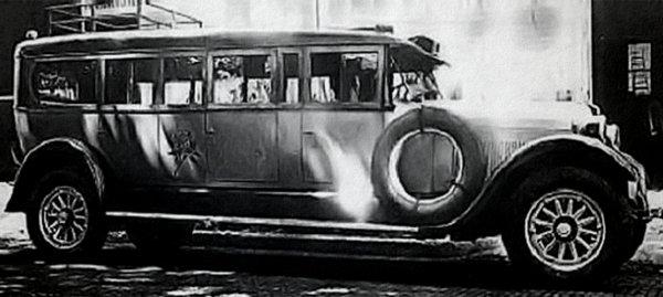 Самый первый длинный Лимузин. Компания Armbruster, США, 1928 год.