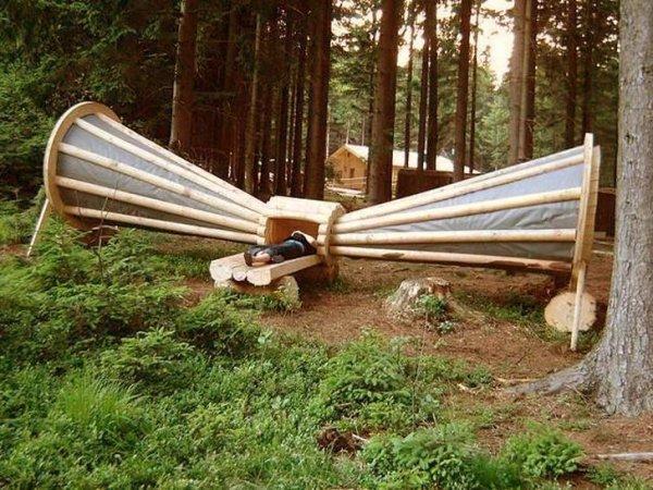 Так выглядит усилитель шума леса