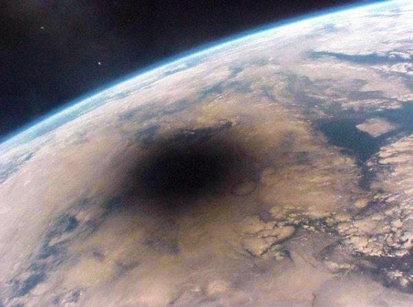 Солнечное затмение глазами космонавтов с МКС