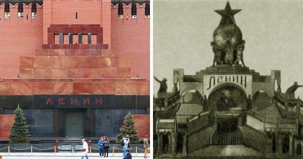 Вход в мавзолей Ленина
