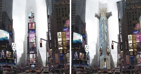 Таймс-сквер-тауэр, Нью-Йорк