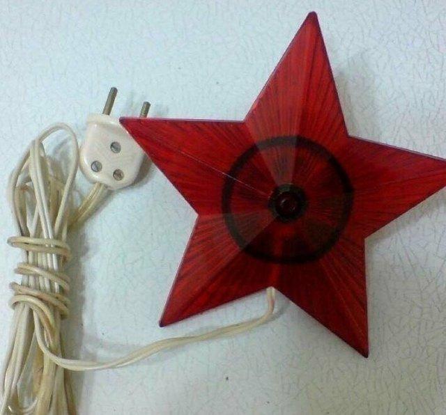 Елочная звезда