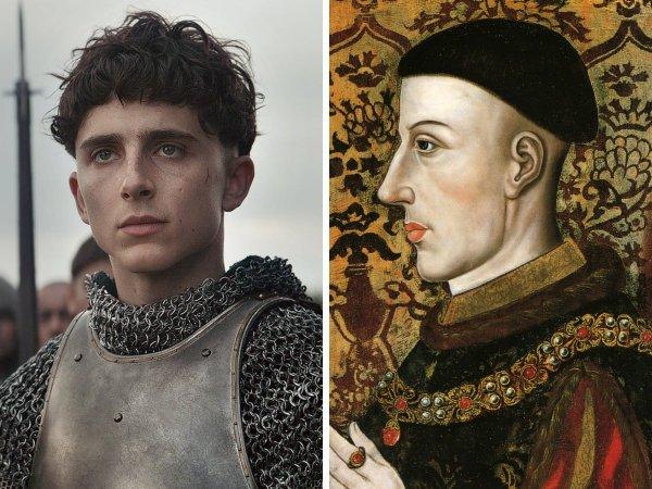 Тимоти Шаламе — Генрих V, король Англии