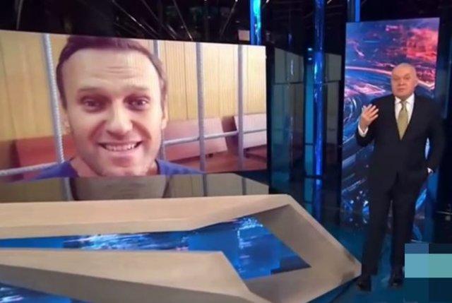 Телевидение про Алексея Навального