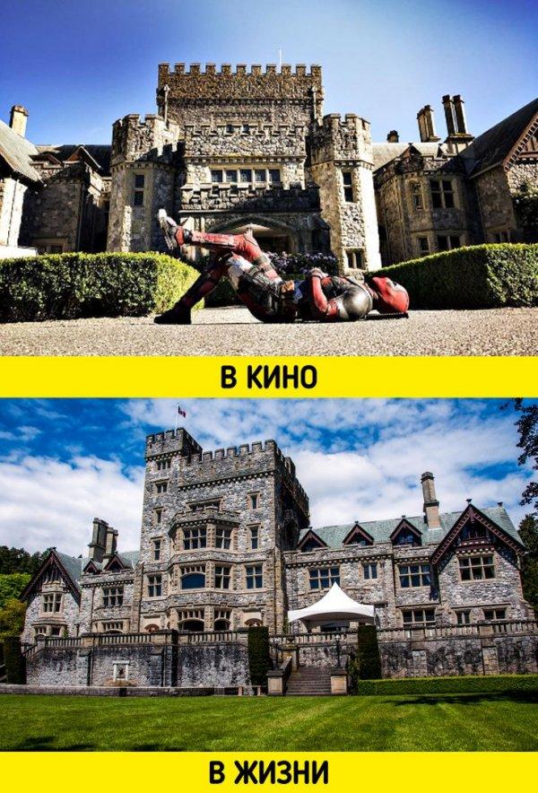 Школой профессора Ксавьера стал замок Хэтли в Канаде
