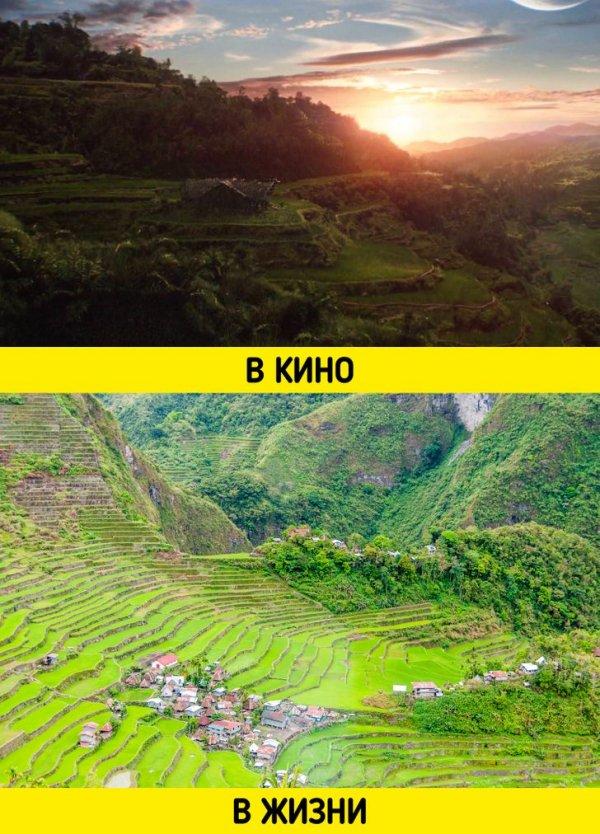 Место отдыха Таноса — рисовые террасы на Филиппинах
