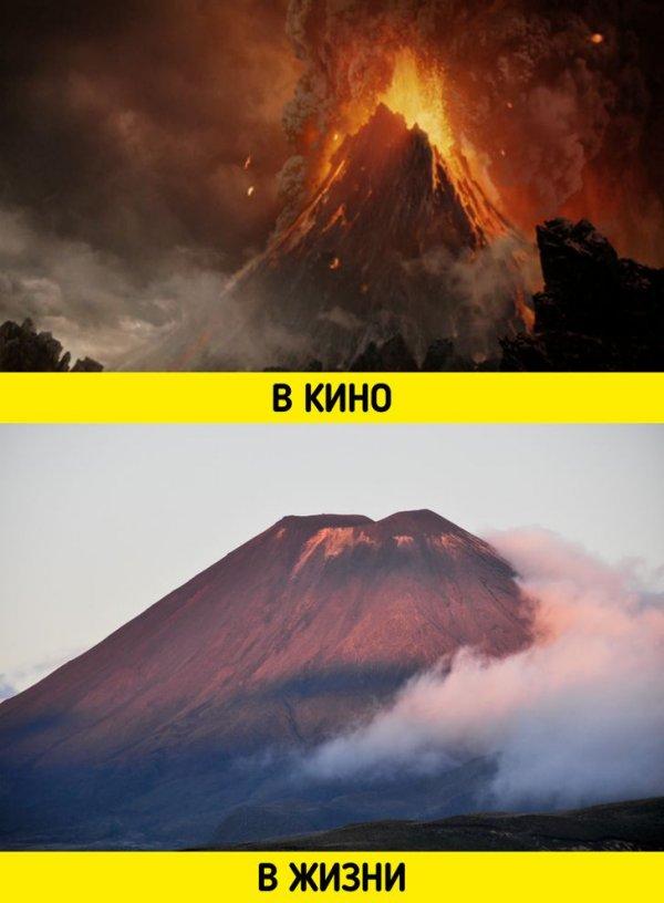 Вулкан из «Властелина колец» — это действующий вулкан Нгаурухоэ в Новой Зеландии