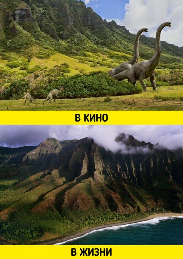 Остров с «парком юрского периода»