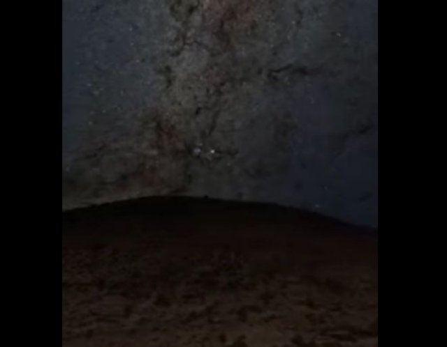 Марсоход Curiosity показал, как Марс выглядит ночью
