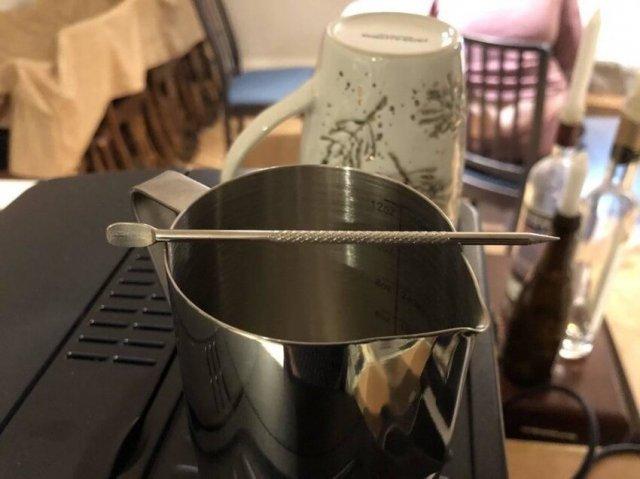 узор на кофе