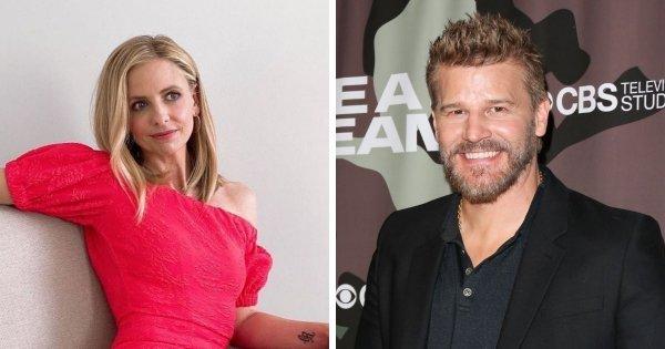Актёры: Сара Мишель Геллар (43 года) и Дэвид Борианаз (51 год).