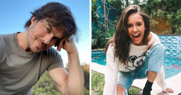 Актёры: Иэн Сомерхолдер (42 года) и Нина Добрев (32 года).