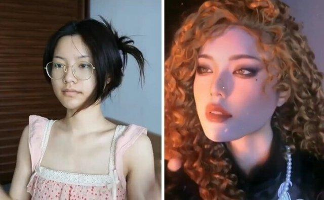 """Чудеса макияжа: как азиатки """"обманывают"""" окружающих с помощью косметики"""