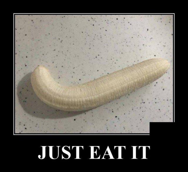 Демотиватор про банан
