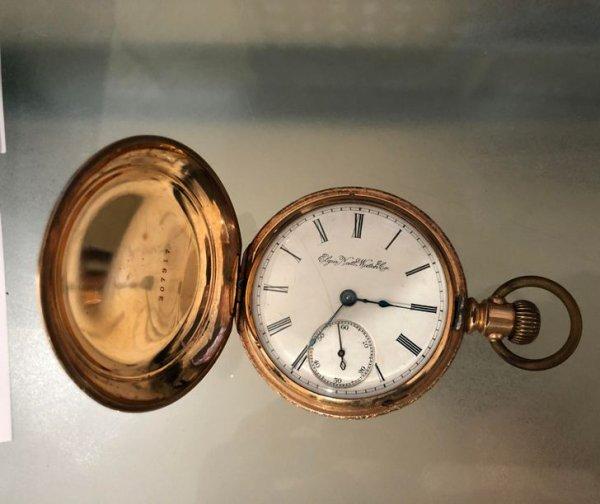 Дедушкины карманные часы, 1891 год, до сих пор ходят