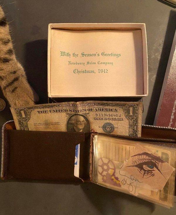 """""""Мой бумажник сделан в 1942 году. Я им и сейчас пользуюсь"""""""