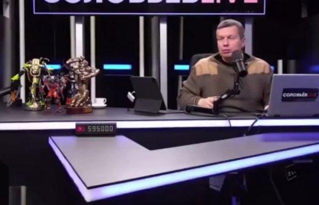 Безумие в передаче Владимира Соловьева