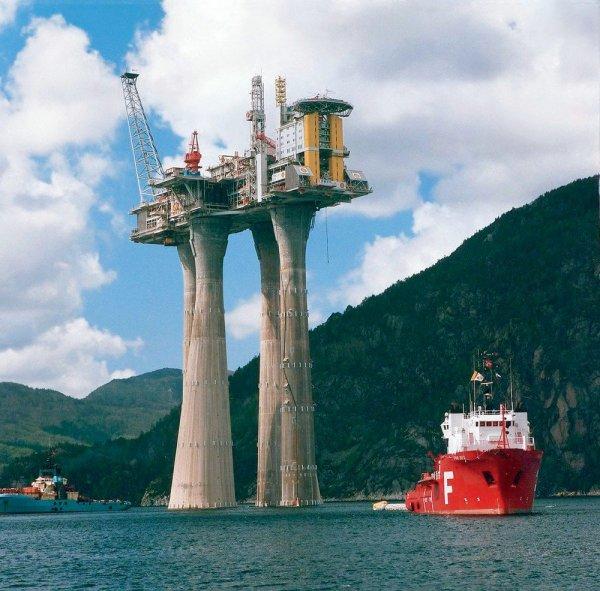 Нефтегазовая платформа «Тролль-А», Норвегия