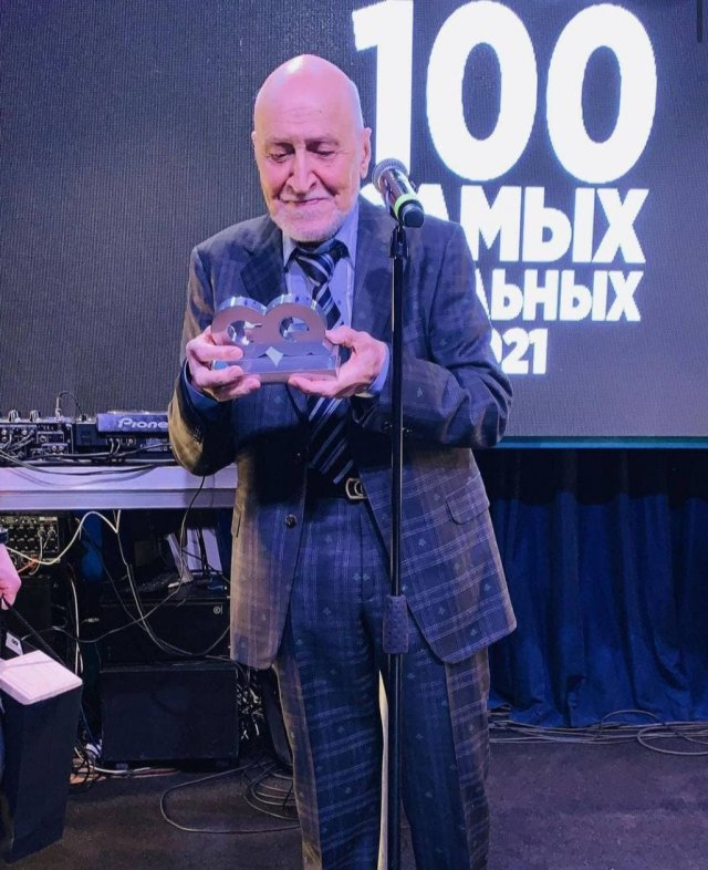 Николай Дроздов вошел в число самых стильных в 2021 году