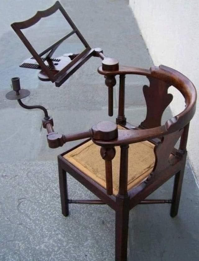 Стул для чтения, XVIII век.