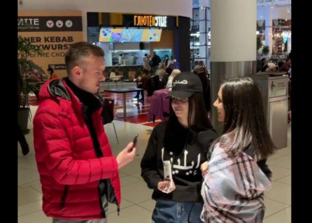 Девушки заявили, что встречаются с кавказцами, потому-что русские - слабые