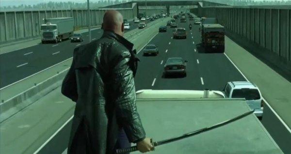 Шоссе в фильме «Матрица: Перезагрузка» (2002)