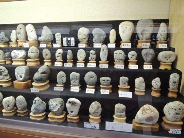 В Японии есть музей, где среди экспонатов можно найти коллекцию камней