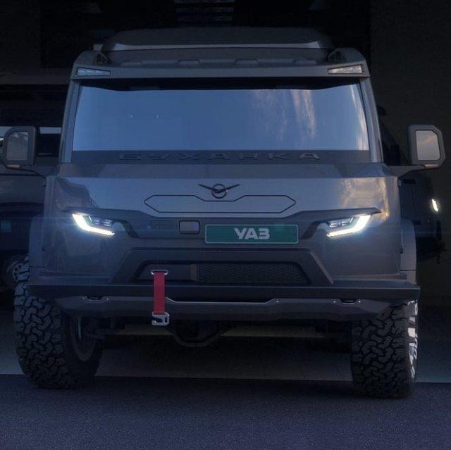 УАЗ опубликовал изображения новой «буханки»