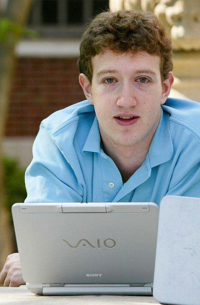 Молодой Марк Цукерберг, 2004 год.