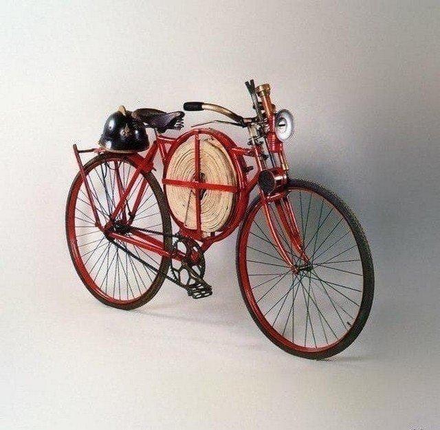 Пожарный велосипед, 1905 год