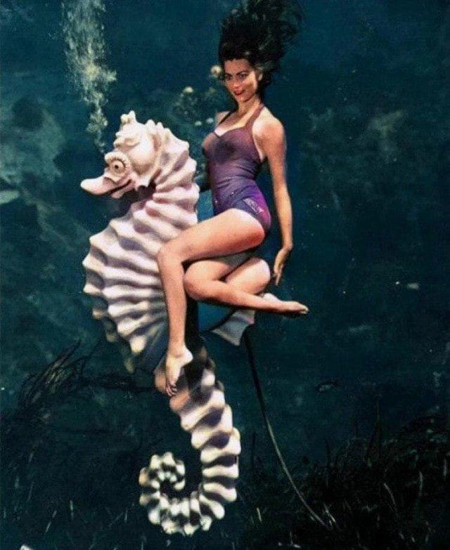 Майами. 1938 год. Одна из первых в истории фотографий, снятая под водой.