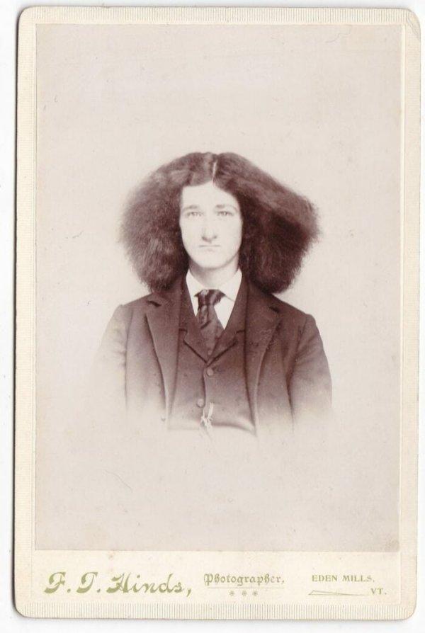 """Причёска стильная - """"первобытная"""""""