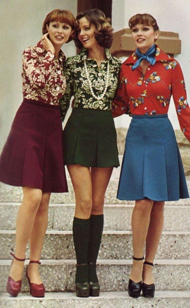 Модницы, 1970-е.